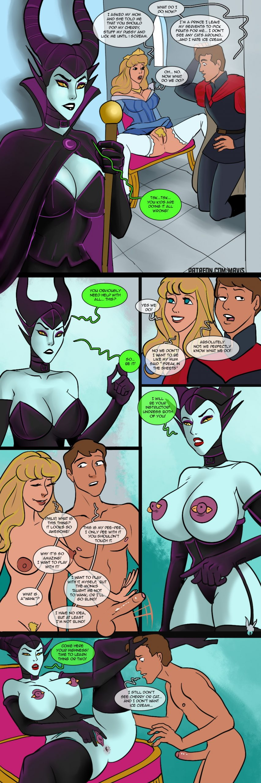 Maleficented – page 1